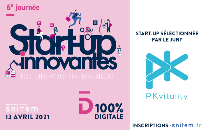 """Featured image for """"PKvitality at the french Innovative Start-up Day"""""""