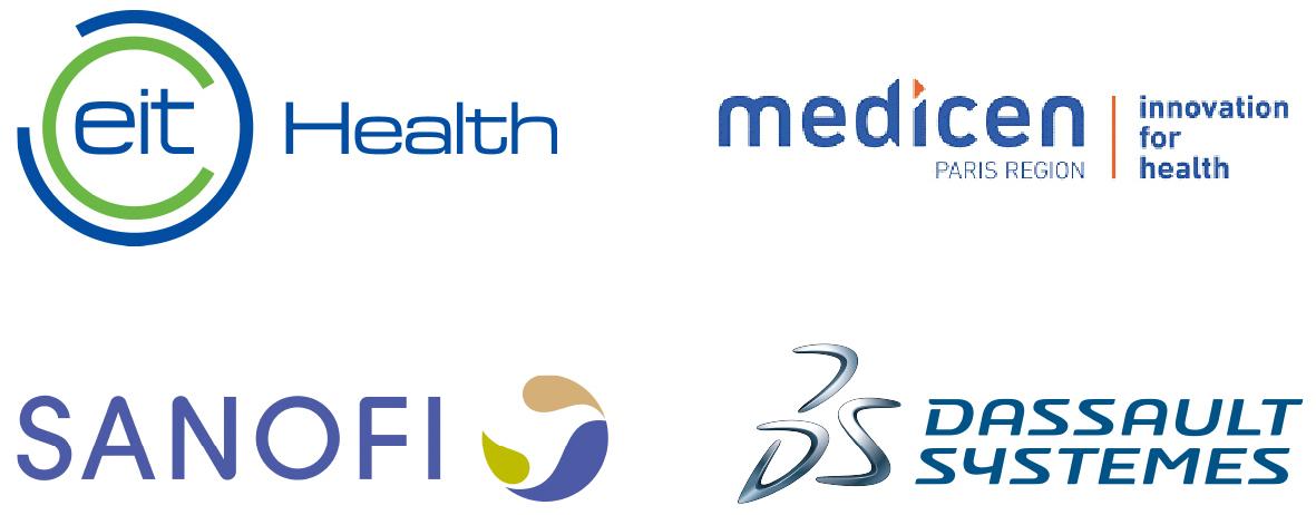 eit Health - medicen - Sanofi - Dassault Systemes